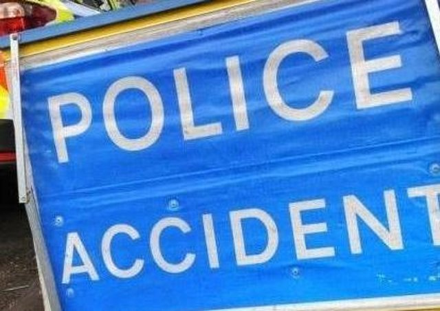 One lane is blocked on the A14 on Wednesday morning