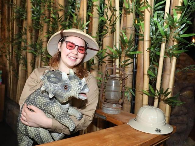 Elizabeth Chapman at the new restaurant
