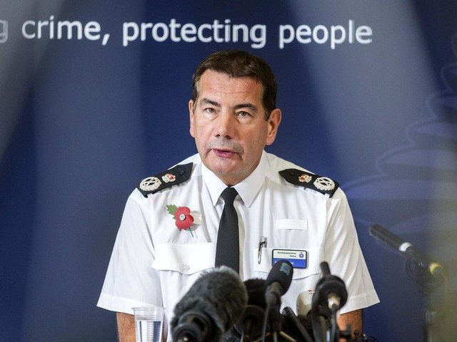 Chief Constable Nick Adderley. (File picture).
