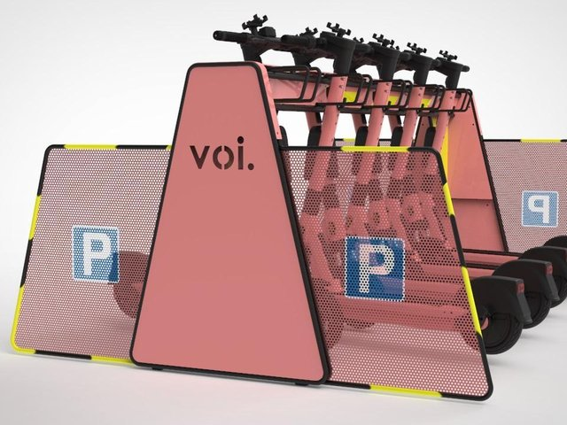 The new RNIB approved parking racks
