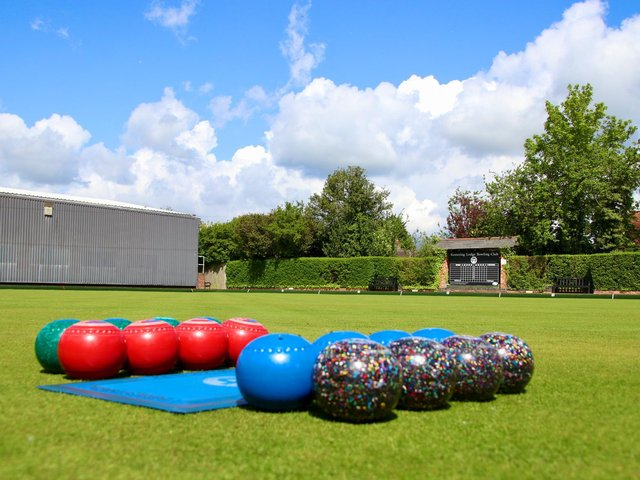 Kettering Lodge Bowls Club will be opening their doors to the public along with a number of county clubs. Picture by Allen Simms