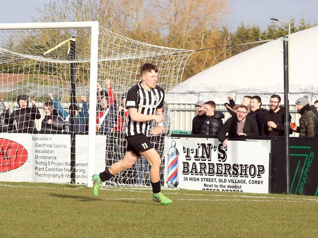 Jordon Crawford is leaving Corby Town