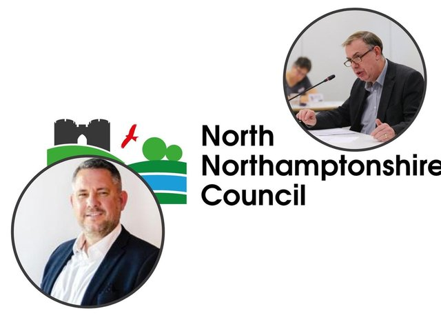 Cllr Jason Smithers (left) and Mick Scrimshaw (right)