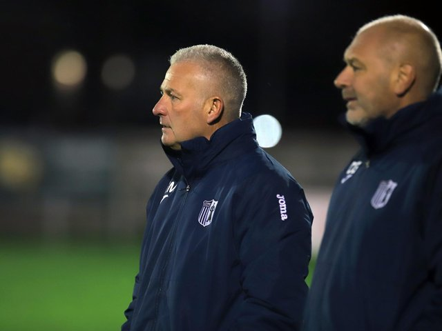 Corby Town manager Gary Mills. Picture by Peter Short