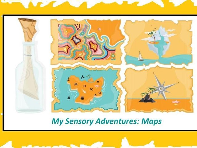 The sessions have been created to support people who like to explore the world in a sensory way