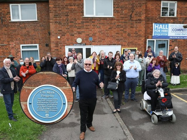 A ceremony was held on Saturday at Stevie Way Community Centre