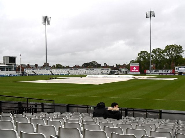 Rain was the winner as Northants' clash with Lancashire at the County Ground ended in a draw