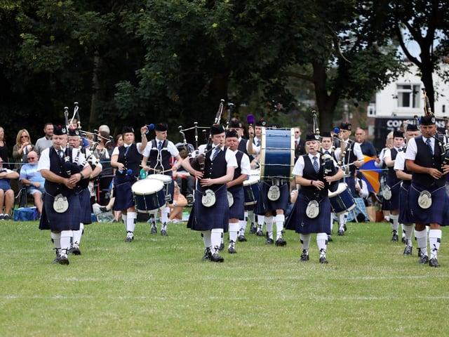 The Grampian Pipe Band
