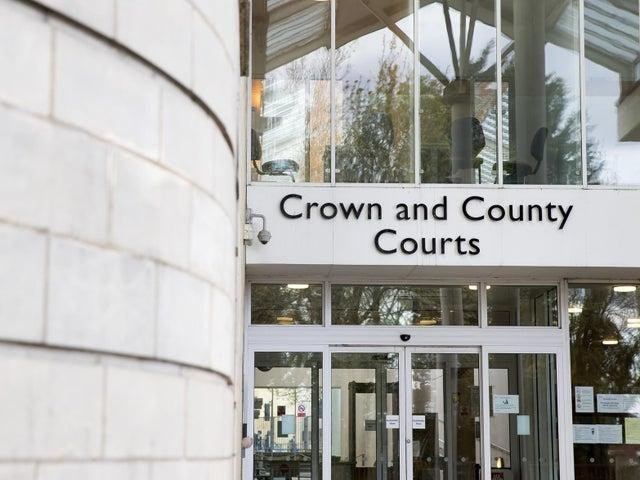 A woman has denied claims that she had consensual sex with any of the five men she says raped her at a Northampton flat.