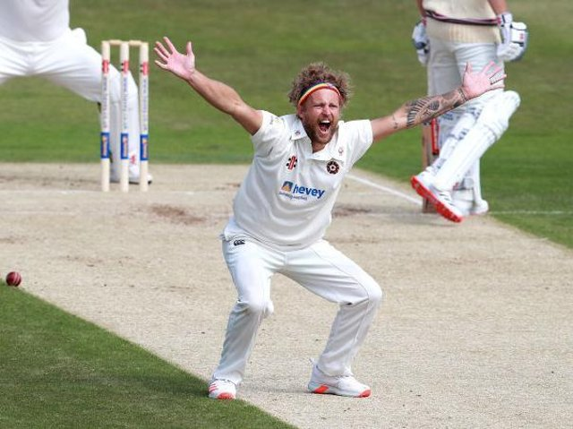 Gareth Berg has signed a new 12-month contract with Northants