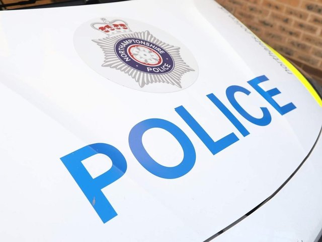 Police are appealing for witnesses to the suspicious incident in Kettering