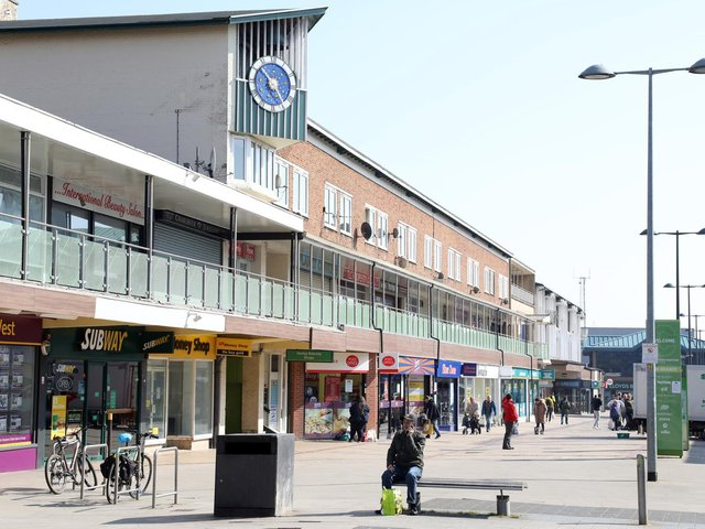 The safety event takes place in Corby town centre