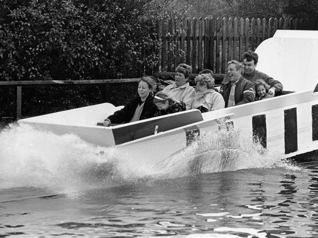 The Charles Wicksteed-designed Water Chute