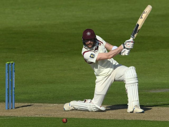 Rob Keogh made 60 not out as Northants claimed a seven-wicket win at Sussex