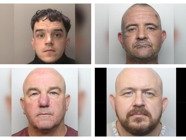 Some of those jailed in May.