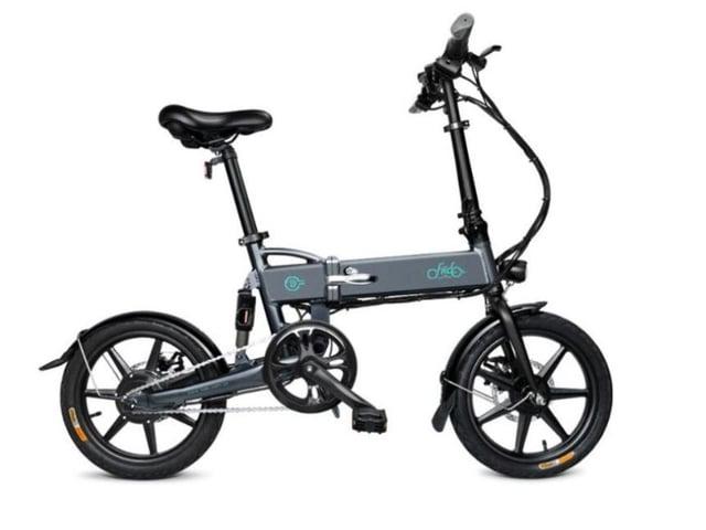 The stolen grey coloured Fiido D2 e-bike worth £650.