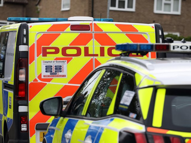 Five arrests were made following the warrant at a property in Argyll Street, Corby