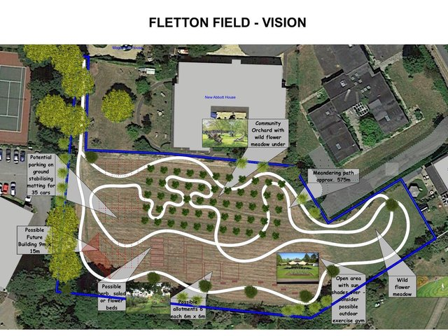 The vision for Fletton Field in Oundle