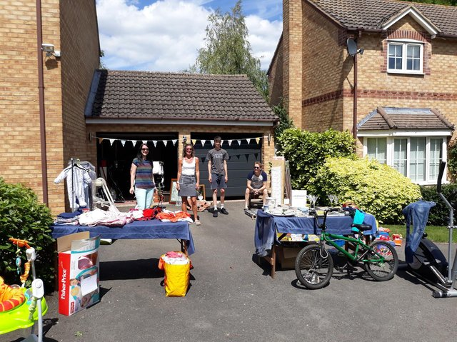 Come and grab a bargain or donate to a stall or charity