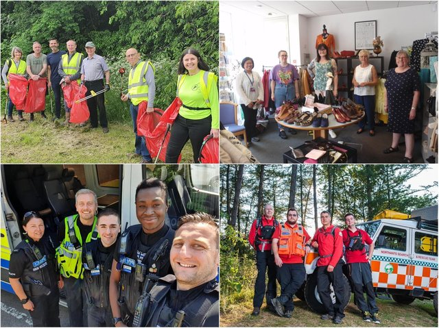 Northamptonshire charities and organisations come together to say thank you to volunteers.