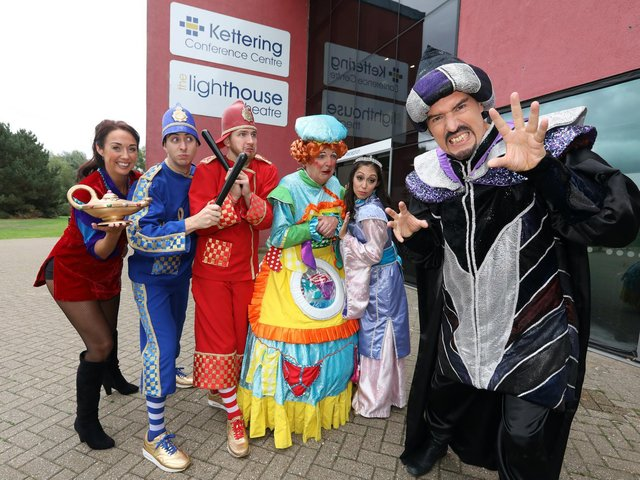 Oh no there isn't - the panto has been postponed for another year