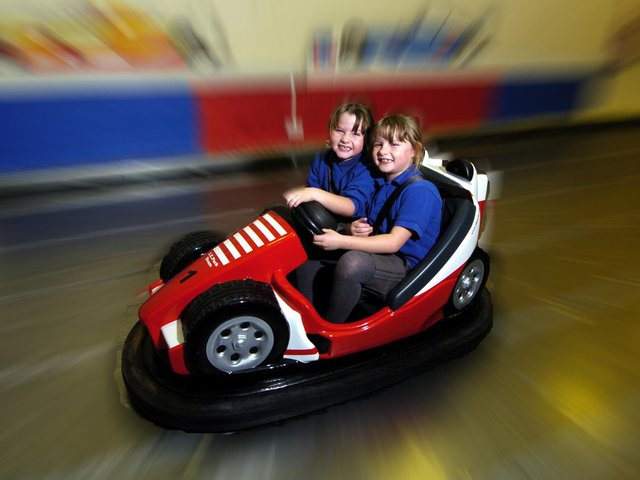 The dodgems - file picture