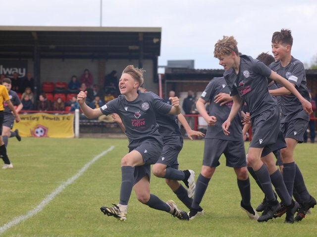 AFC Rushden & Diamonds Fury were victorious in the Under-13 Cup final. Pictures courtesy of www.rwt-photography.co.uk