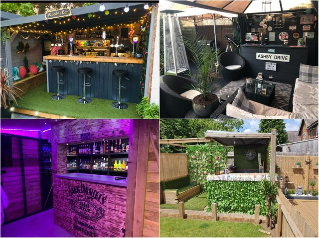 Here are some of the best entries to the Britain's Best Home Bar competition so far.