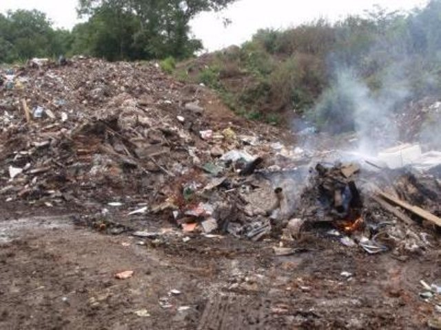Some of the waste at Monkton Sidings