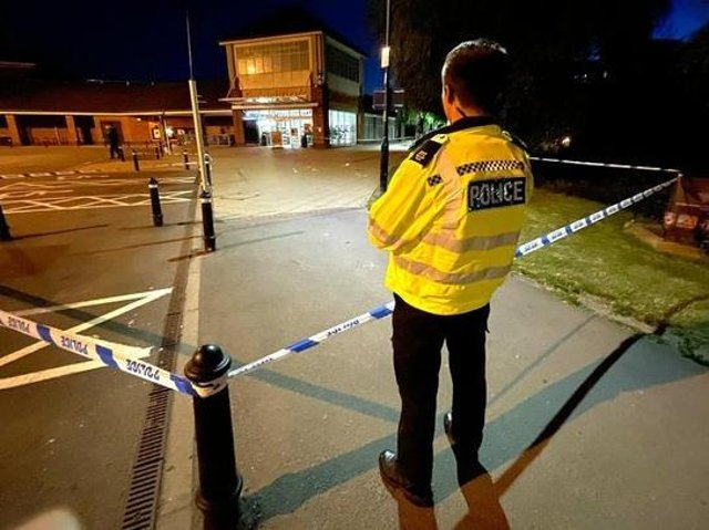 Two teenagers were arrested in the Northamptonshire area following Saturday night's stabbing in Market Harborough