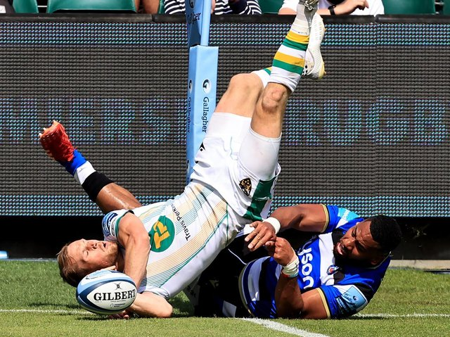 Rory Hutchinson scored a superb try against Bath on Saturday