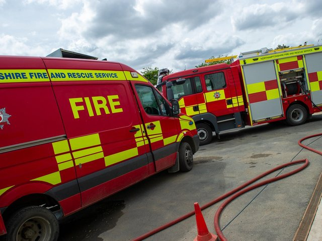 The fire service attended two deliberate fires in the same area last week.