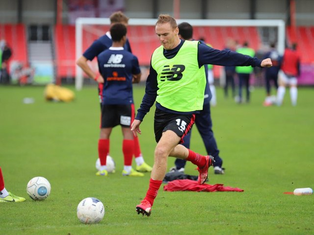 Club legend Brett Solkhon has been released by Kettering Town. Picture by Peter Short