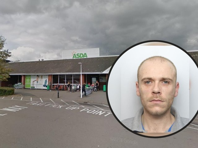 Two bikes were stolen from outside Asda in Corby