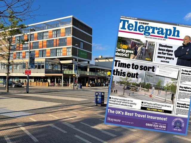 The Northants Telegraph has backed the campaign for improvements at George Street