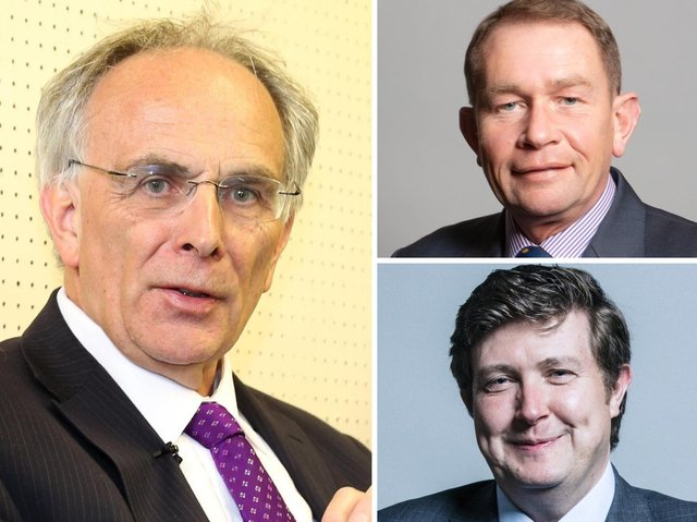 Tory MPs Peter Bone, Philip Hollobone and Andrew Lewer all voted against the government last night