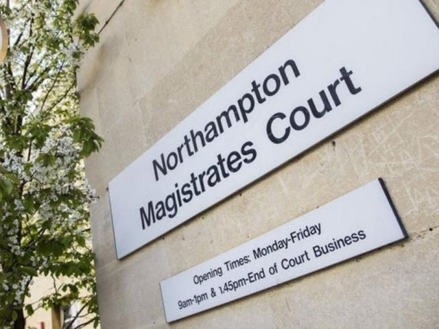 Harding is due to appear at Northampton Magistrates Court on Friday morning