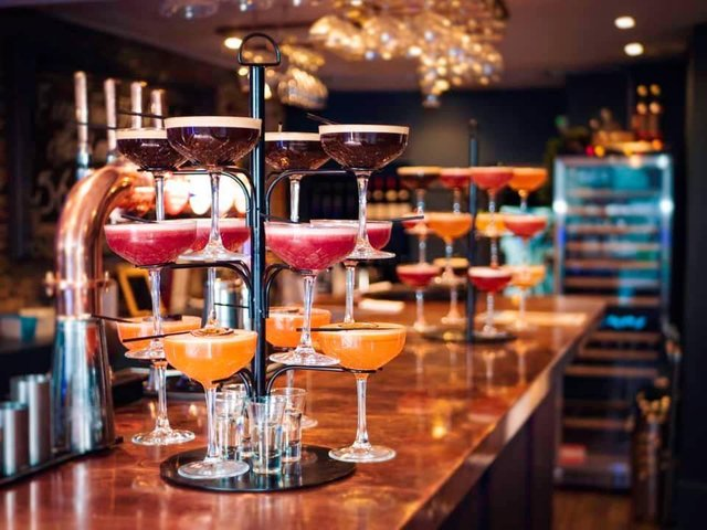 Here are some bars in Northamptonshire that have huge cocktail menus.