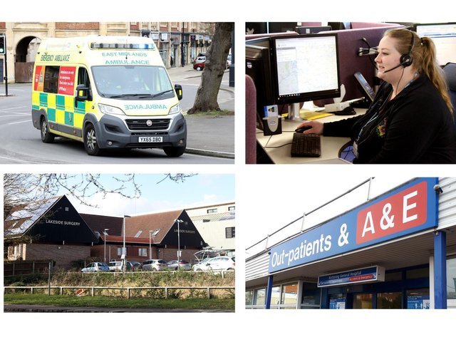 Emergency admissions at KGH have soared in recent weeks.