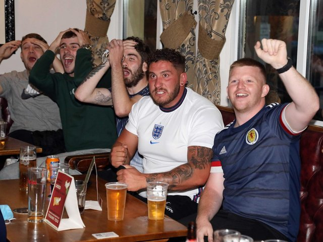 It was a good night for Scottish fans