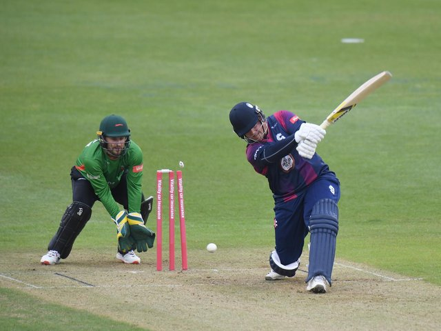 Richard Levi was bowled by Colin Ackermann