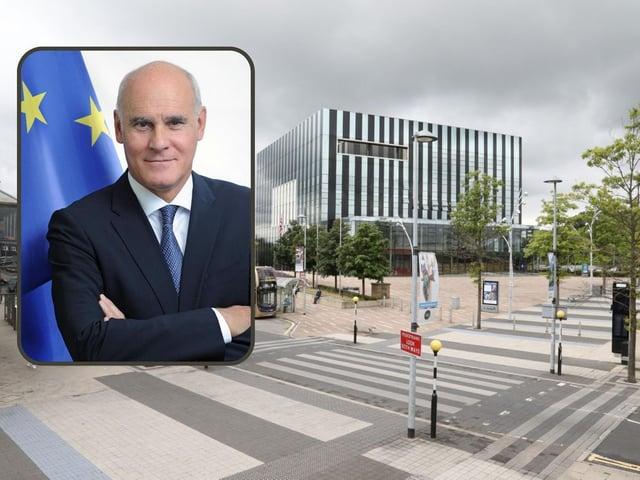 The EU's Ambassador to the UK João Vale de Almeida