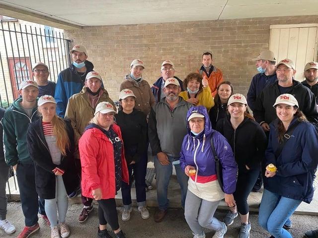 The PDI Corby team at Dorking Walk