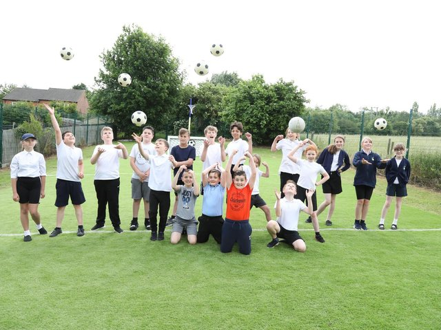 Pupils would like schools to get in touch for friendly matches