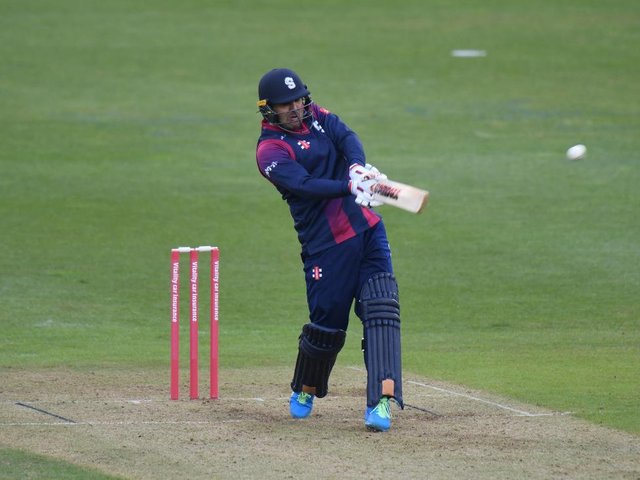 Mohammad Nabi produced an excellent all-round performance for the Steelbacks