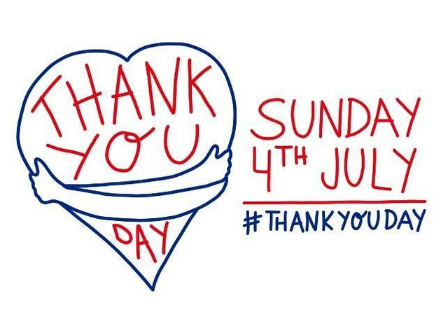 Sunday is National Thank You Day