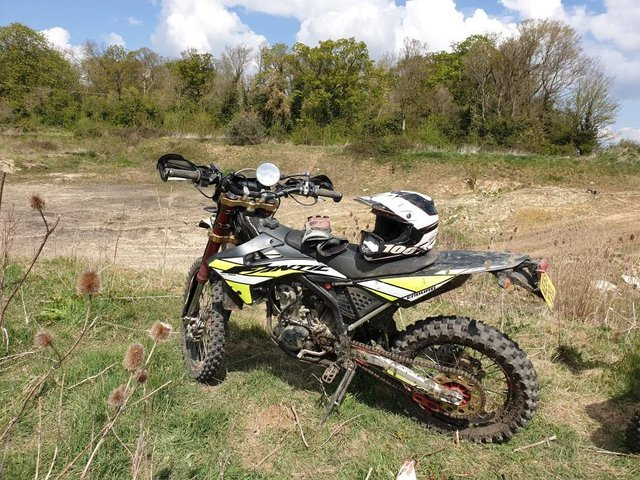 Anyone who's seen this stolen bike is urged to call police
