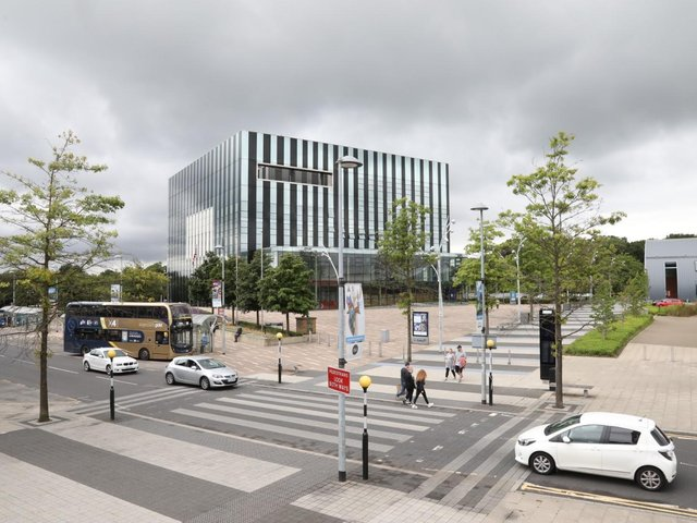 The council meets at the Corby Cube
