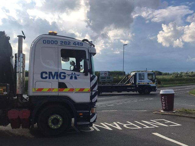 Recovery and investigation work continued until around 10pm following Saturday's horror smash