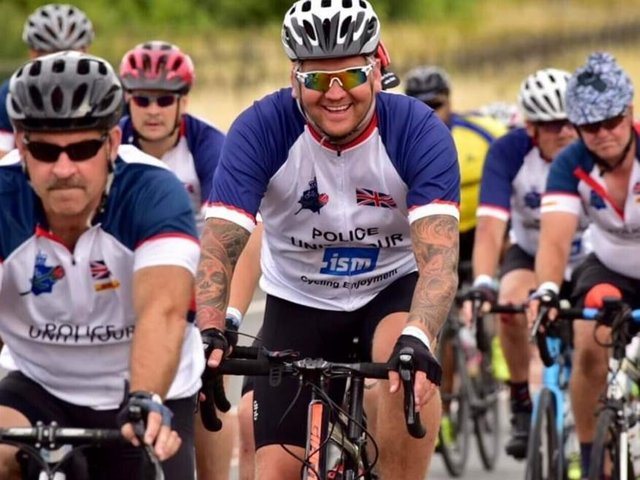 PC Ian Rudkin will be saddling up with a 12-strong